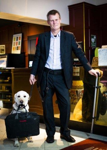 Scandic Hotels' tilgjengelighetsdirektør, Magnus Berglund
