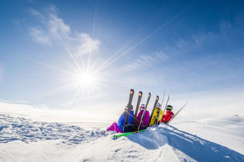 Påskeferie på fjellet. Fotograf: Ola Matsson