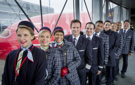 Long-haul-crew i Norwegian (foto fra Norwegian).