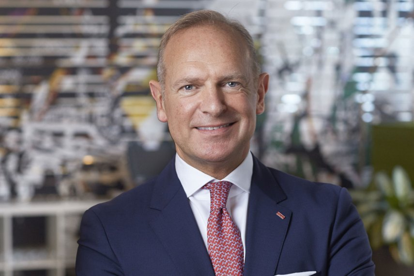 Scandic Hotels' konsernsjef Frank Fiskers (foto fra Scandic Hotels)