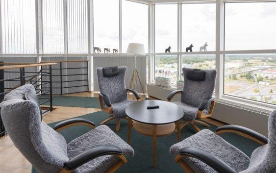 Interiør fra Quality Hotel Örebro, som i januar 2016 blir hetende Best Western Eurostop Örebro. Foto fra Best Western Hotels & Resorts.