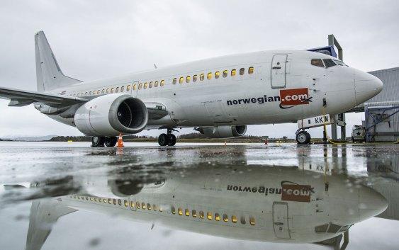 LN-KKW i Bodø. Foto fra Norwegian