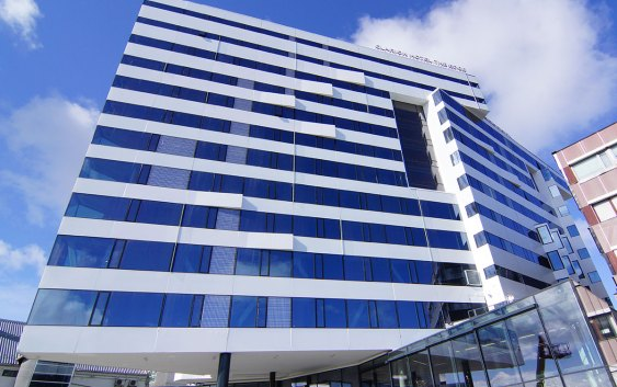 Clarion Hotel The Edge i Tromsø. Foto fra Choice Nordic Hotels