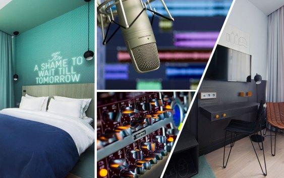 """Detaljer fra et av de nye """"hotellrom-studioene"""" på Comfort Hotel Karl Johan. Foto fra Nordic Choice Hotels"""