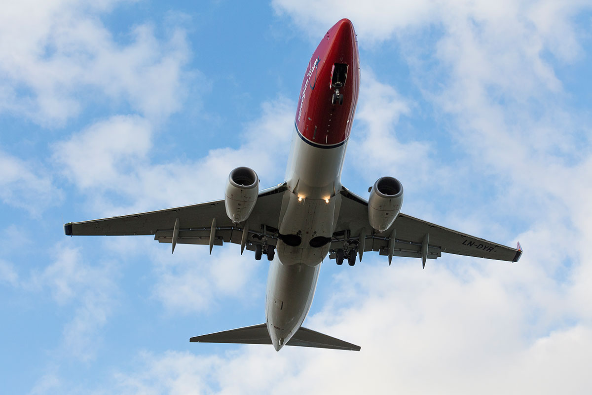 Norwegians aller siste fly av typen Boeing 737-800 har landet på Oslo lufthavn