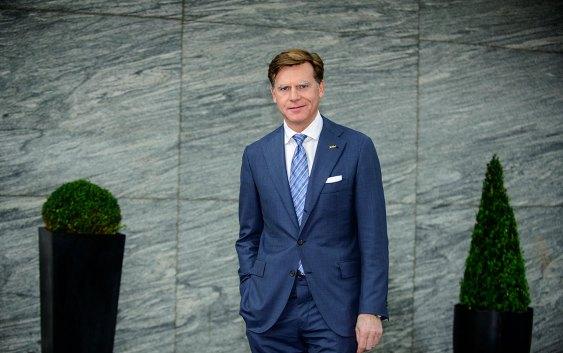 Wolfgang M. Neumann, President og CEO for Rezidor Hotel Group. Foto fra Carlson Rezidor Hotel Group.