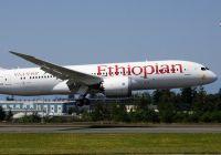 Ethiopian Airlines til Avinor Oslo lufthavn