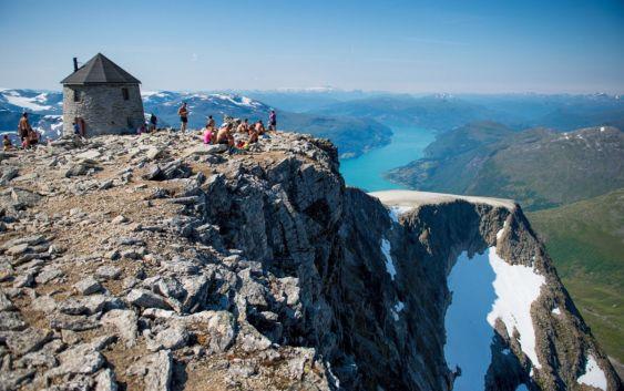 Vestlandsturister ønsker å oppleve mer enn flott natur. Foto fra Innovasjon Norge.