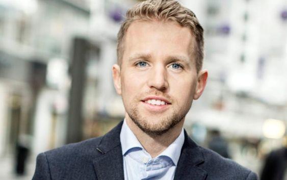 Erik Wikander, nordensjef i Travellink. Foto fra Travellink.