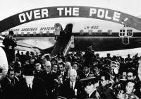 SAS-ruten fra København til Tokyo over Nordpolen er fylt 60