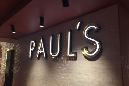 Paul's, en av restaurantene på Haymarket by Scandic.