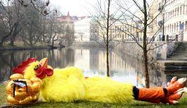 Clarion Hotel gjemmer tusenvis av egg i over 40 byer