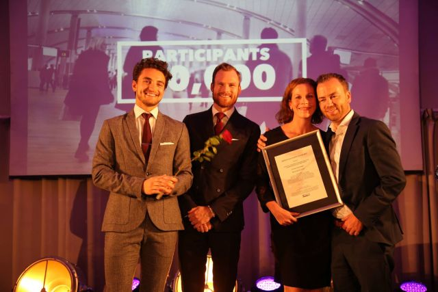 Just Cruzin' Production stakk av med seieren i Beste interne event. Fotograf: Camilla Bergan.