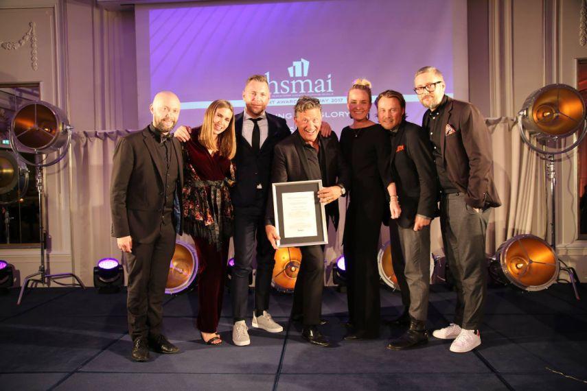 Nine Yards vant gullet i Beste salgs- eller promoevent. Fotograf: Camilla Bergan.