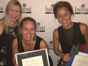HSMAI Eventprisene 2017. Fotograf: Jarle Petterson