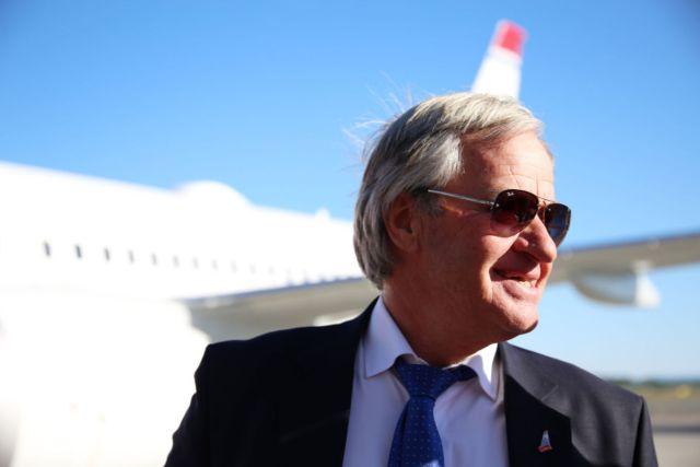 Norwegians konsernsjef Bjørn Kjos. Foto fra Norwegian.