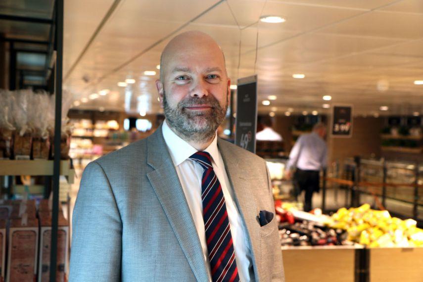 Konsernsjef Rickard Ternblom i Fjord Line. Foto fra Fjord Line.
