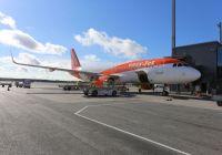easyJet har ankommet Avinor Oslo lufthavn