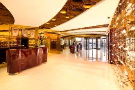 Fra lobbyen på The Domain Hotel and Spa i Bahrain. Foto fra thedomainhotels.com