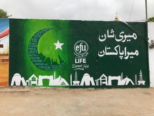 EFU Life #MeriShaanMeraPakistan – celebrating the spirit of patriotism through Wall Art