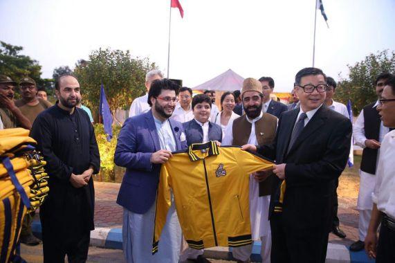 Peshawar Zalmi to promote Cricket in China | En-Ur-Chinese