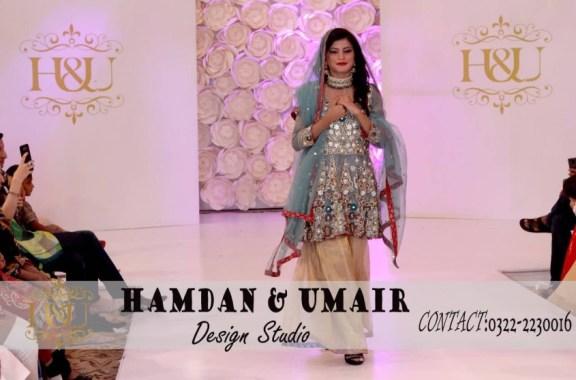 A fashion show by Hamdan & Umair Studio in Karachi