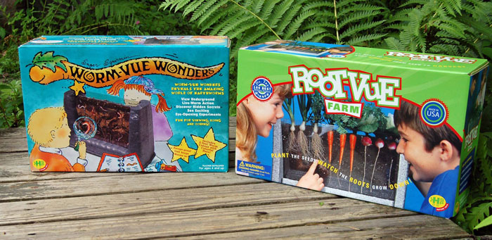 Worm-Vue and Root-Vue Kids Gardening Kits