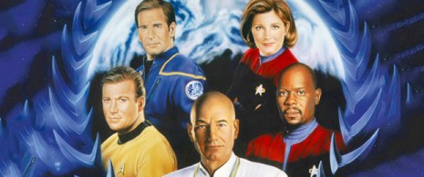 Shatner, Bakula, Stewart, Mulgrew, Brooks