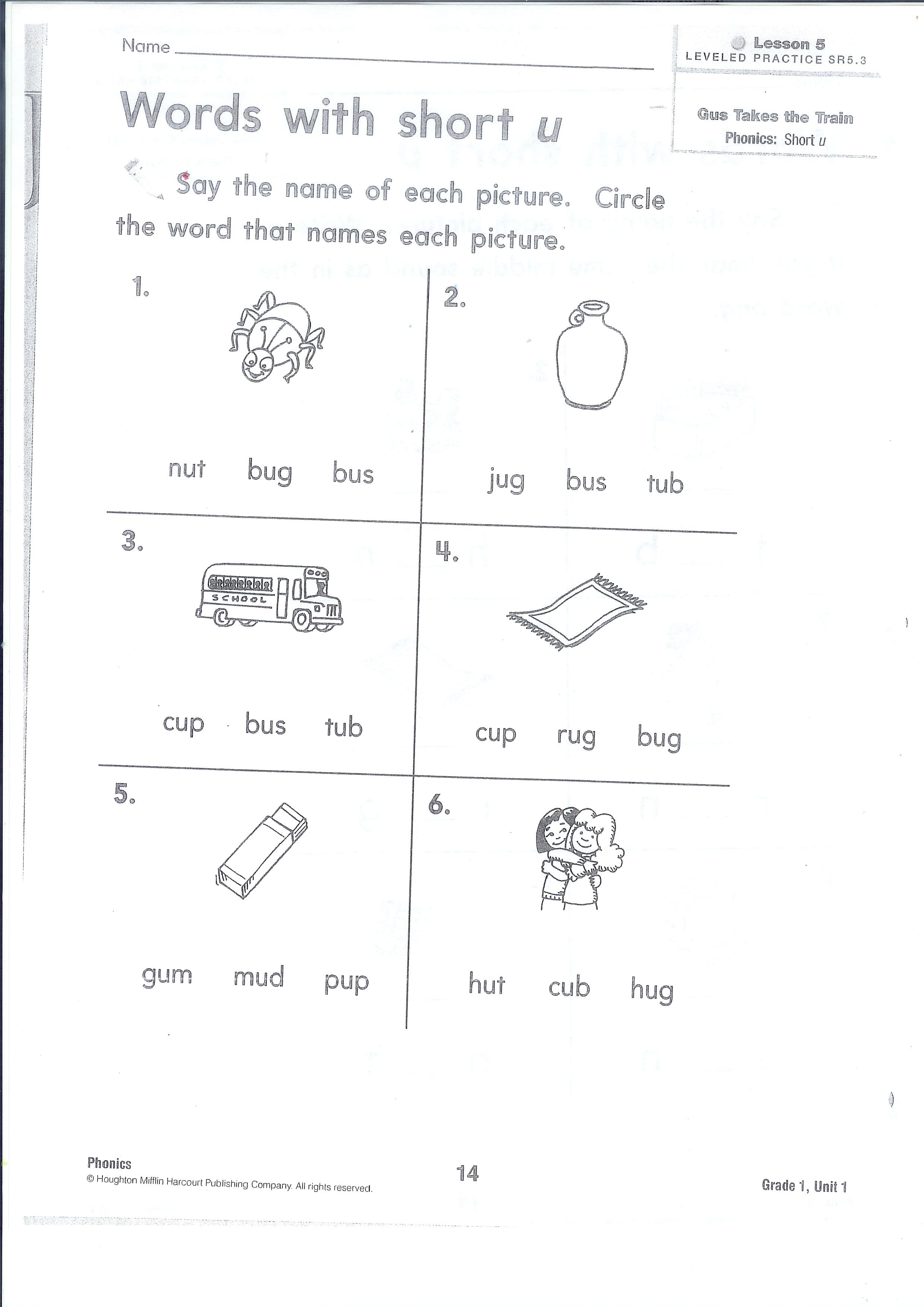 Homework For You Vocabulary Words