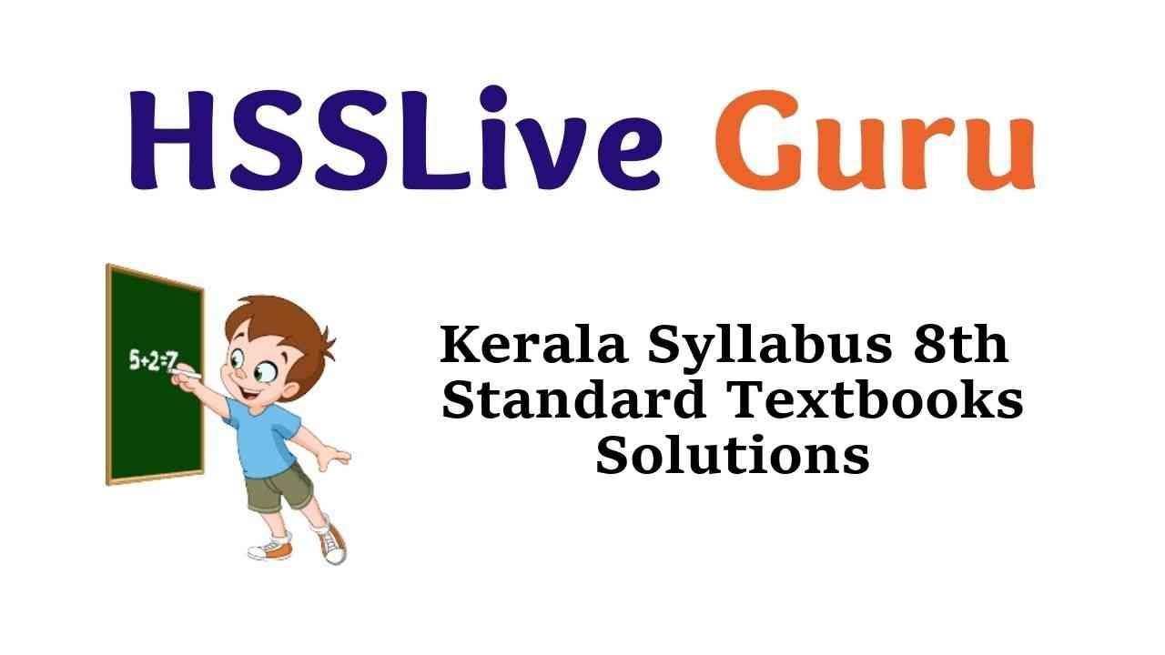 Kerala Syllabus 8th Standard Textbooks Solutions Guide