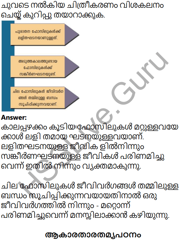 Kerala Syllabus 10th Standard Biology Solutions Chapter 8 The Paths Traversed by Life in Malayalam 17
