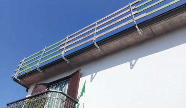 montati sul tetto