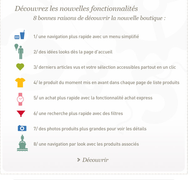 LA COMPAGNIE DES PETITS NOUVELLES FONCTIONNALITES