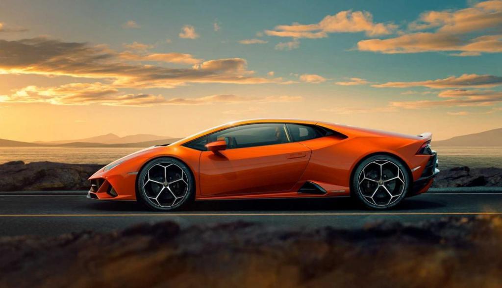 El Lamborghini Huracan Evo 2019 resideñado para incluir un V10 y más 600 caballos de fuerza