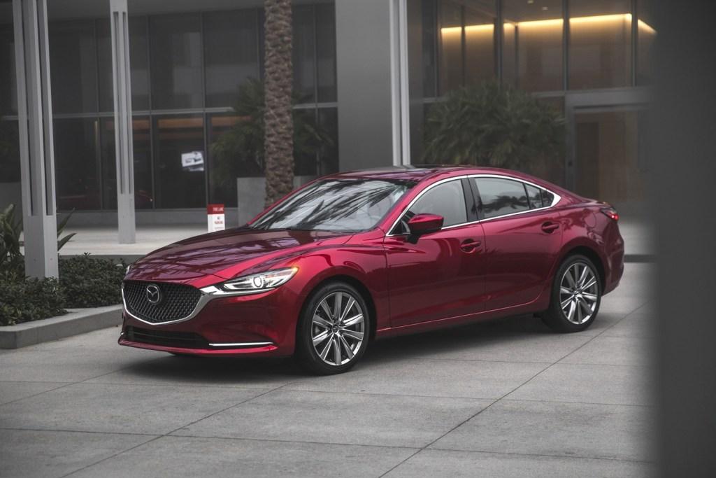 Mazda 6 2019 rojo