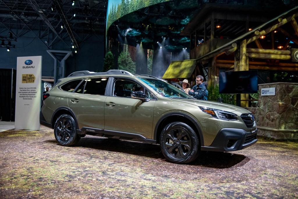 Stand de Subaru en el Auto Show de Nueva York