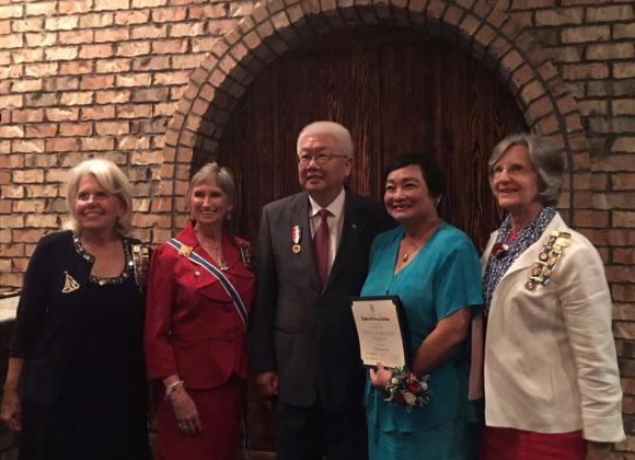 HSU honored to receive DAR Americanism Medal