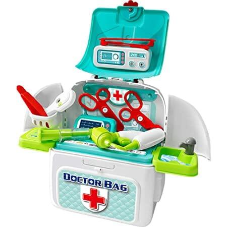 3歳の赤ちゃんのおもちゃはコレ!「ドクターバッグ」。amazonなら種類が多い!