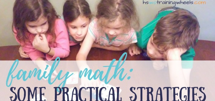 "Wouldn't it be great if you could teach everyone math together? Is that even possible? Find out more about how we do ""family math""!"