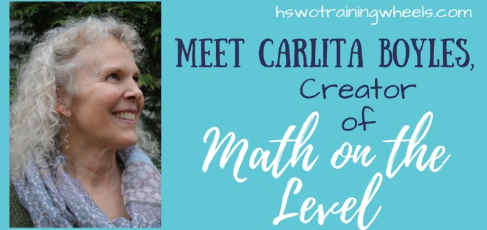 Math on the Level totally changed the way we think about math instruction. I had the privilege of interviewing Carlita Boyles, creator of the program!