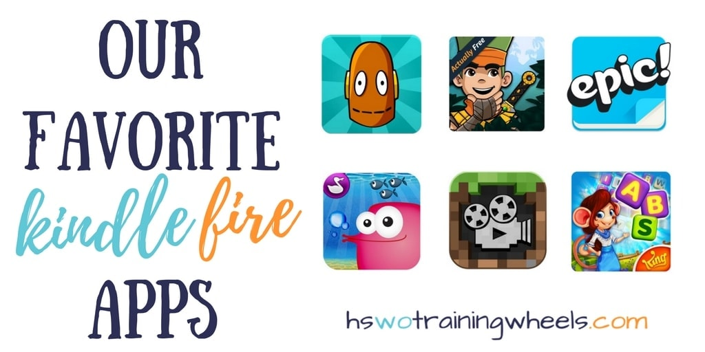 Our Favorite Kindle Fire Apps