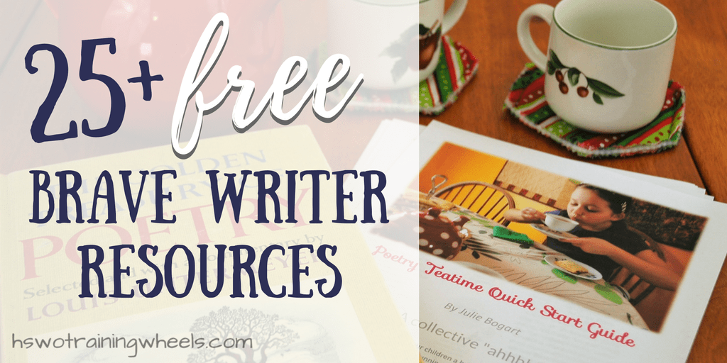 Our favorite homeschool writing program is Brave Writer. Check out these free resources to support your language arts and literature studies!