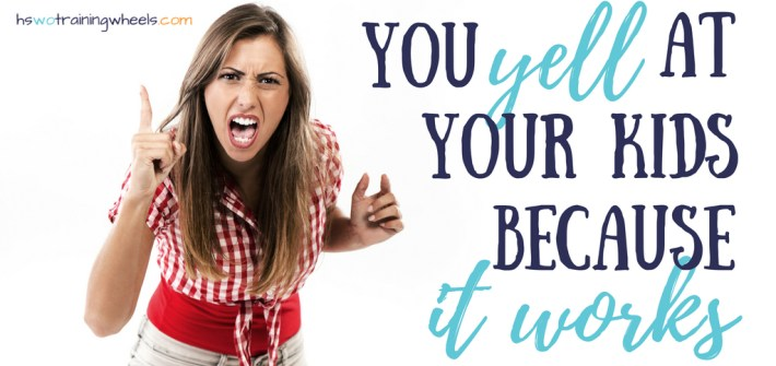 Do you yell at your kids? Do you know why you yell? Why you do you keep returning to yelling as a parenting strategy, even when you don't want to?