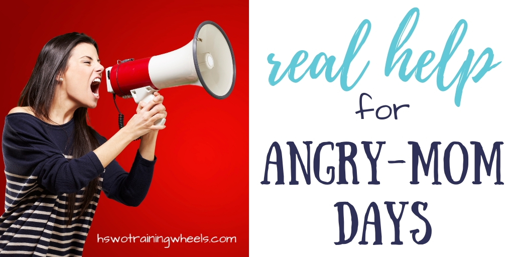 Angry-mom days. All moms have them. But it's not enough just to summon up all your willpower to stop. You need some practical tips and strategies.