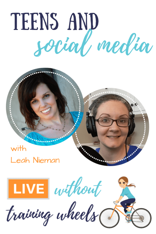 Are you approaching the teen years and wondering how to handle social media? When? How? What guidelines? Let's chat with Leah Nieman about that!