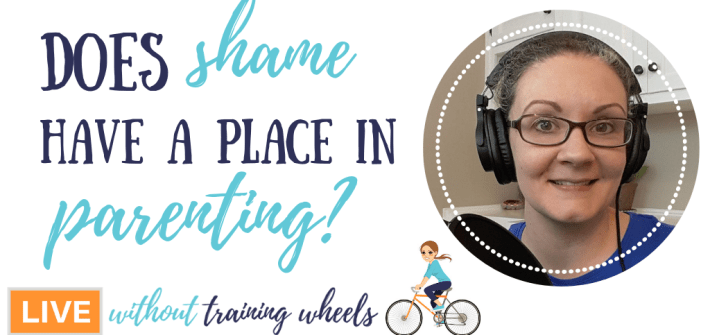 What should you do about shame in parenting? What if your children don't feel ashamed when they behave badly? Should you encourage them to be ashamed?