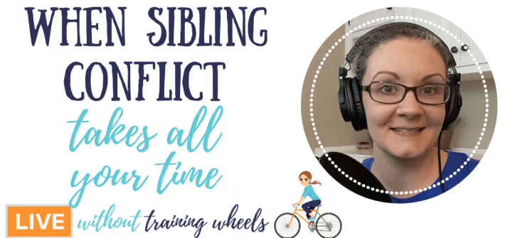 Spend lots of time managing sibling conflict? Torn between quickly ending the problem and taking time to heal relationships? Here are some suggestions.