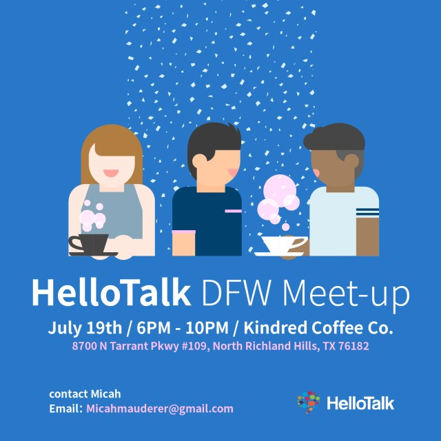 It's Alive! HelloTalk Community Leaves the Screen   HelloTalk Blog