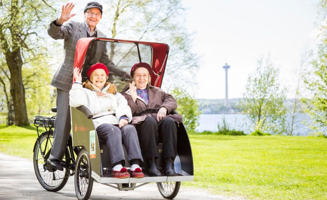 A vélo sans âge : une innovation venue du Danemark