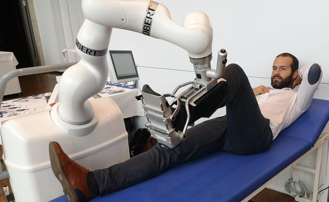 Robert, le robot-kiné danois